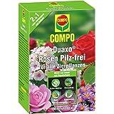 COMPO Duaxo Rosen Pilz-frei, Bekämpfung von Pilzkrankheiten an allen Zierpflanzen, Konzentrat inkl. Messbecher, 130 ml