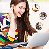 Wired Earbuds, Wotmic in-Ear Stereo Earphones Wired Headphone Microphone & Durable Cable Volume Control Powerful Bass Running Gym Jogging Sport