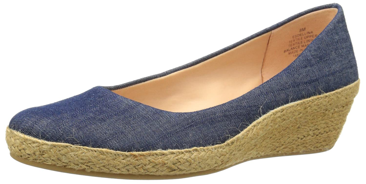 Easy Spirit Women's Dellina Espadrille B016IC4YRS 8 B(M) US|Navy