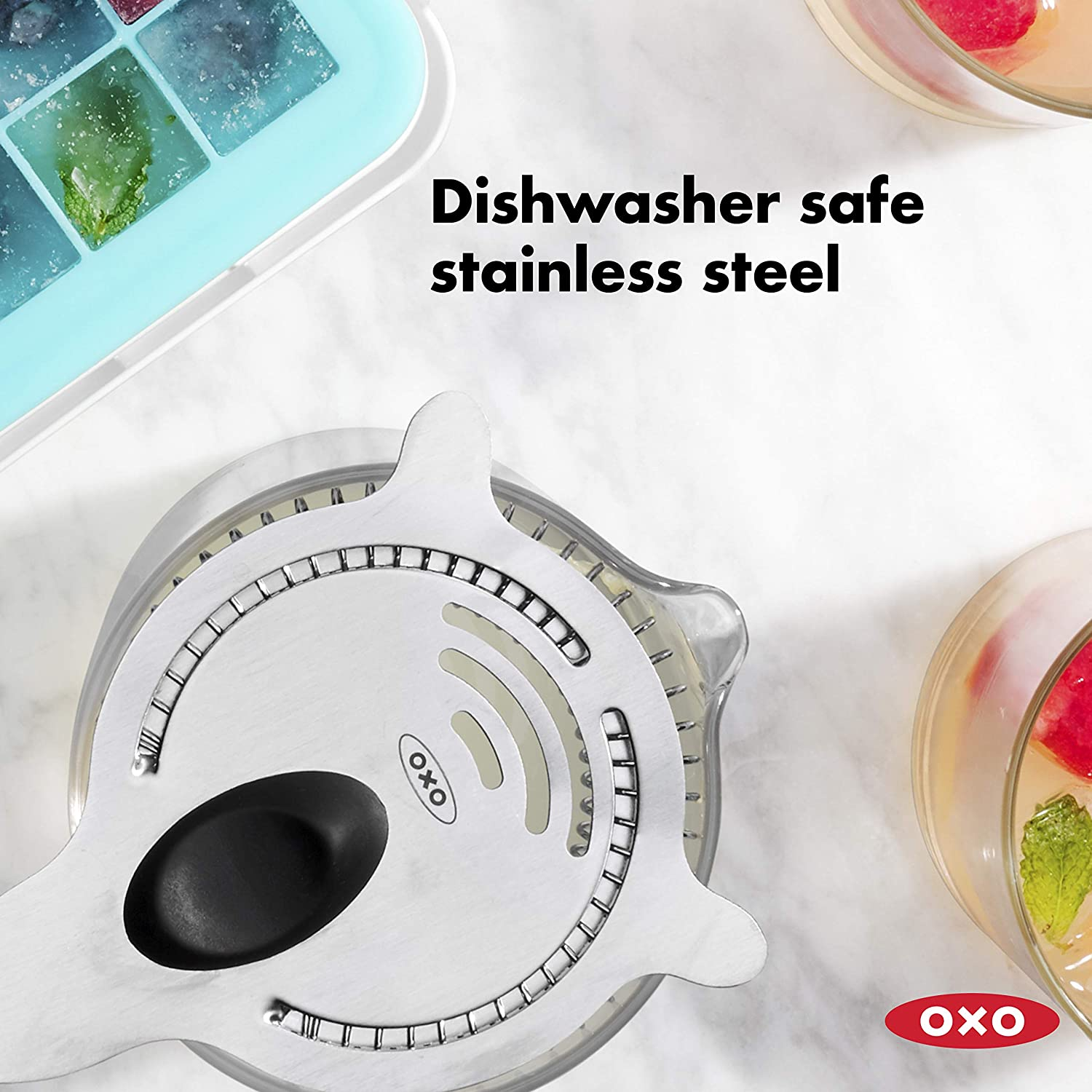 Oxo SteeL Cocktail Strainer
