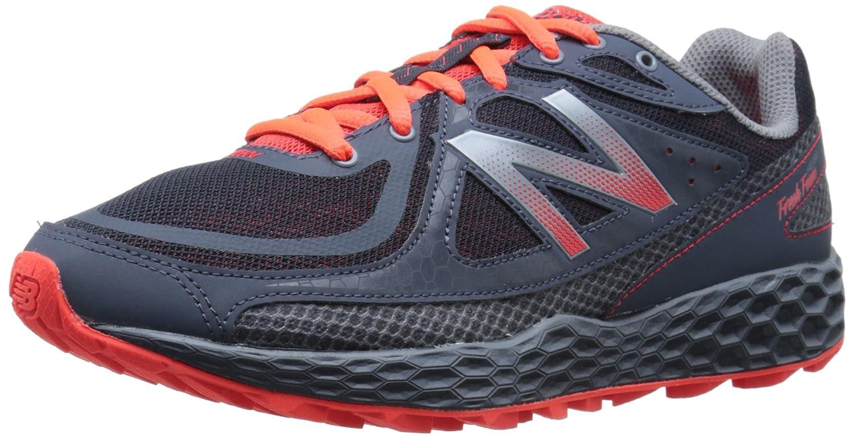 New Balance Men's Fresh Foam Hierro Trail Shoe B00R78Z4WM 8.5 D(M) US|Grey/Orange