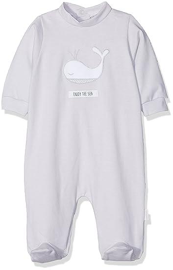 Cambrass 675.1, Pelele para Dormir para Bebé-Niños, Gris, T.0
