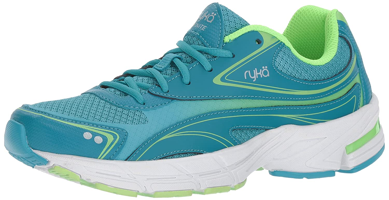 Ryka Women's Infinite Smw Walking Shoe B01M35F6UT 9.5 B(M) US|Blue/Lime