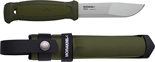 Morakniv Kansbol Fixed Blade Knife with Sandvik Stainless Steel Blade