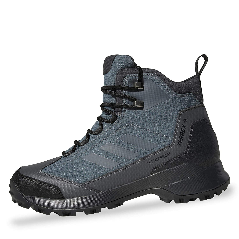 Adidas Herren Terrex Heron Mid Cw Cp Trekking- & Wanderstiefel Schwarz 50.7 EU