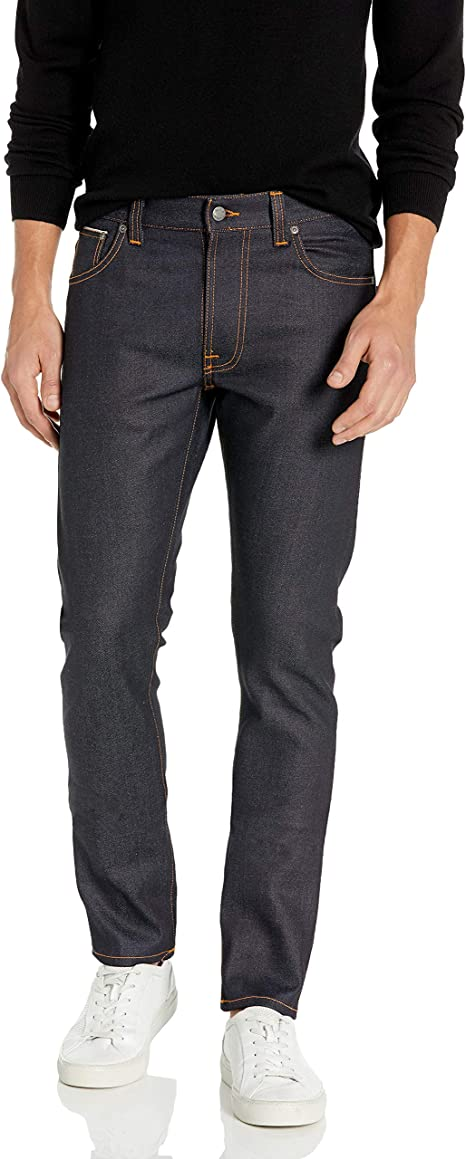 fresh styles new style vast selection Amazon.com: Nudie jeans De Los Hombres Lean Dean Jean en seco ...