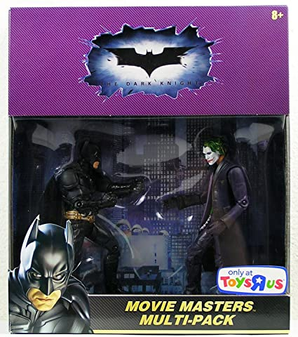 The Joker Dark Knight Batman Super Hero Action Figure Doll Toys Kids Gifts 4 PCS