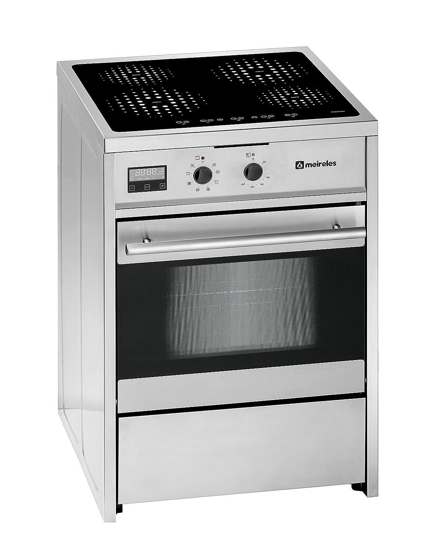 Meireles E 612 X - Cocina (Cocina independiente, Acero inoxidable ...