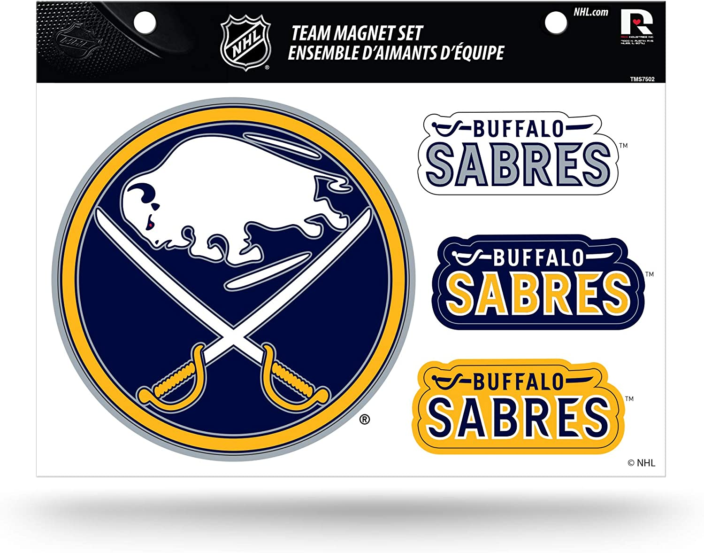 NHL Die Cut Team Magnet Set Sheet
