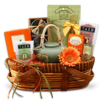 Amazon.com : Tazo Zen Tea Gift Basket : Gourmet Tea Gifts ...