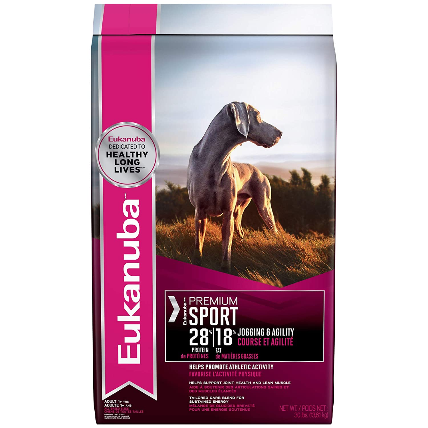 Eukanuba Premium Sport 28 18 Adult Dry Dog Food