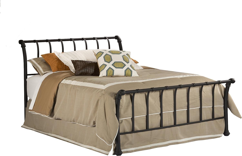 - Amazon.com: Hillsdale Furniture 1655BQR Janis Metal Sleigh Bed Set