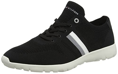 Tommy Hilfiger Extra Lighweight Knitted Runner, Zapatillas para Hombre: Amazon.es: Zapatos y complementos