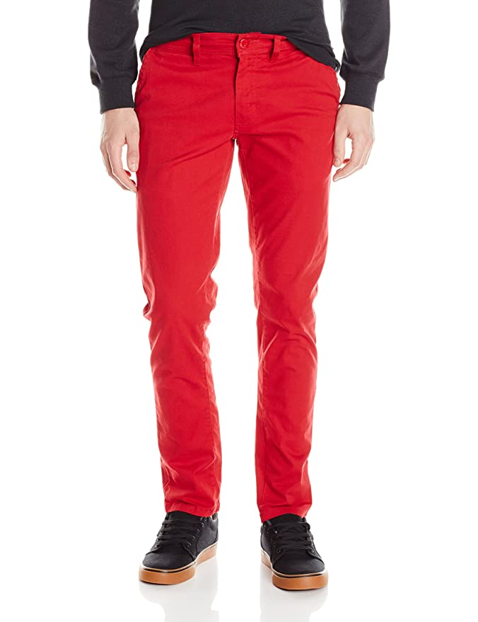 WT02 Men's Long Basic Stretch Skinny Chino Pant at Amazon Men's ...