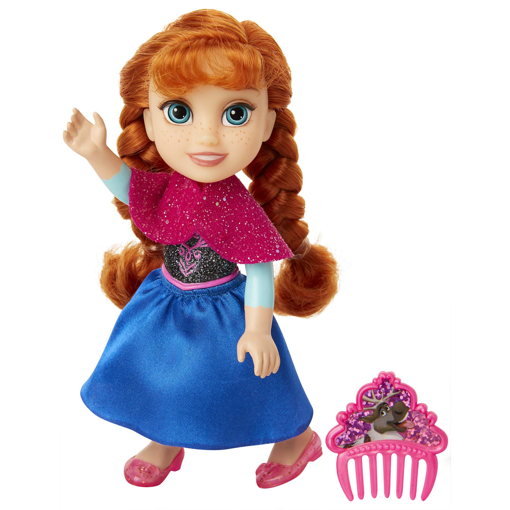 """Petite Anna with Olaf Princess Doll 6"""" Frozen"""