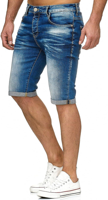 Redbridge Short Mens Short Denim Basic Fashion Casual Jeans Shorts Moda Casual Jeans Estate
