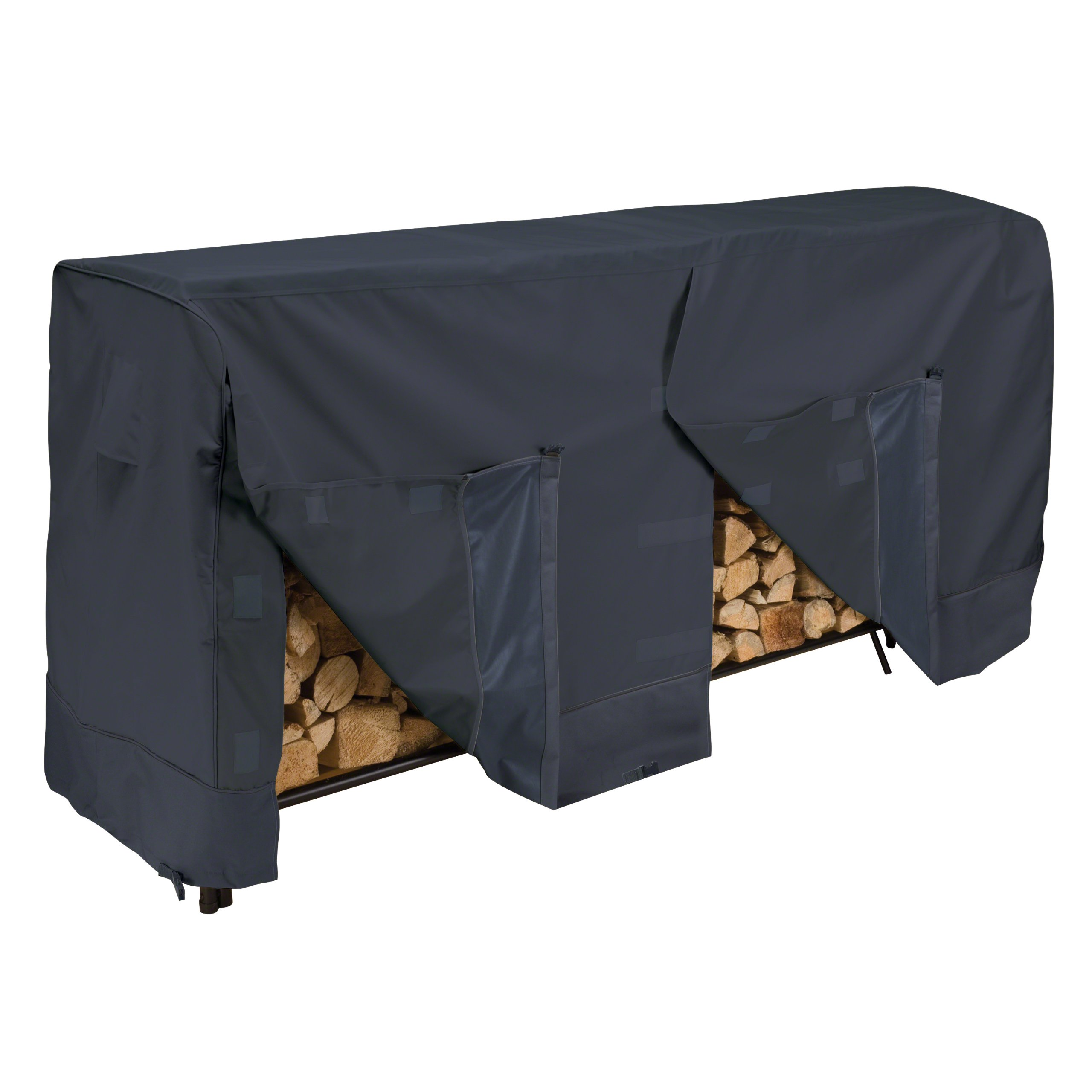 Classic Accessories 52-069-030401-00 Log Rack Cover, 8-Feet, 8 ft, Black by Classic Accessories