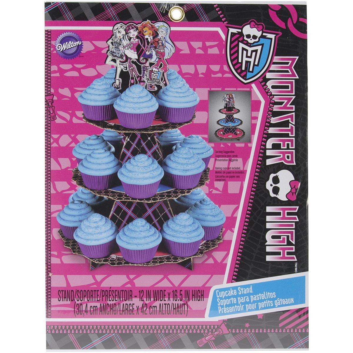 Wilton 1512-6677 Monster High Cupcake Stand