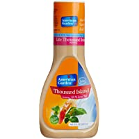 American Garden Dressing - Thousand Island (Lite), 267ml Bottle
