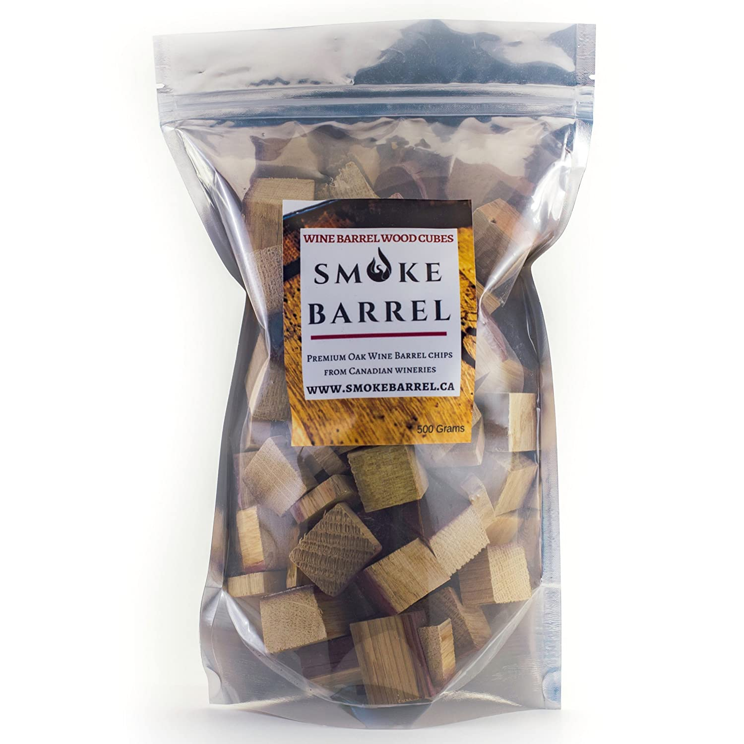 Wine Barrel Wood Chips for A Smoker or BBQ. Made from 100% Wine Barrels- Best Grilling Barbecue Accessories & Utensils Smoke Barrel Inc.