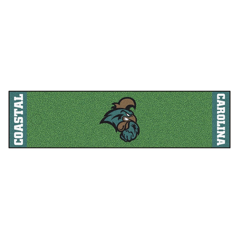 NCAA Coastal Carolina Chanticleers Puttingグリーンマットゴルフアクセサリー   B07F1V61SC