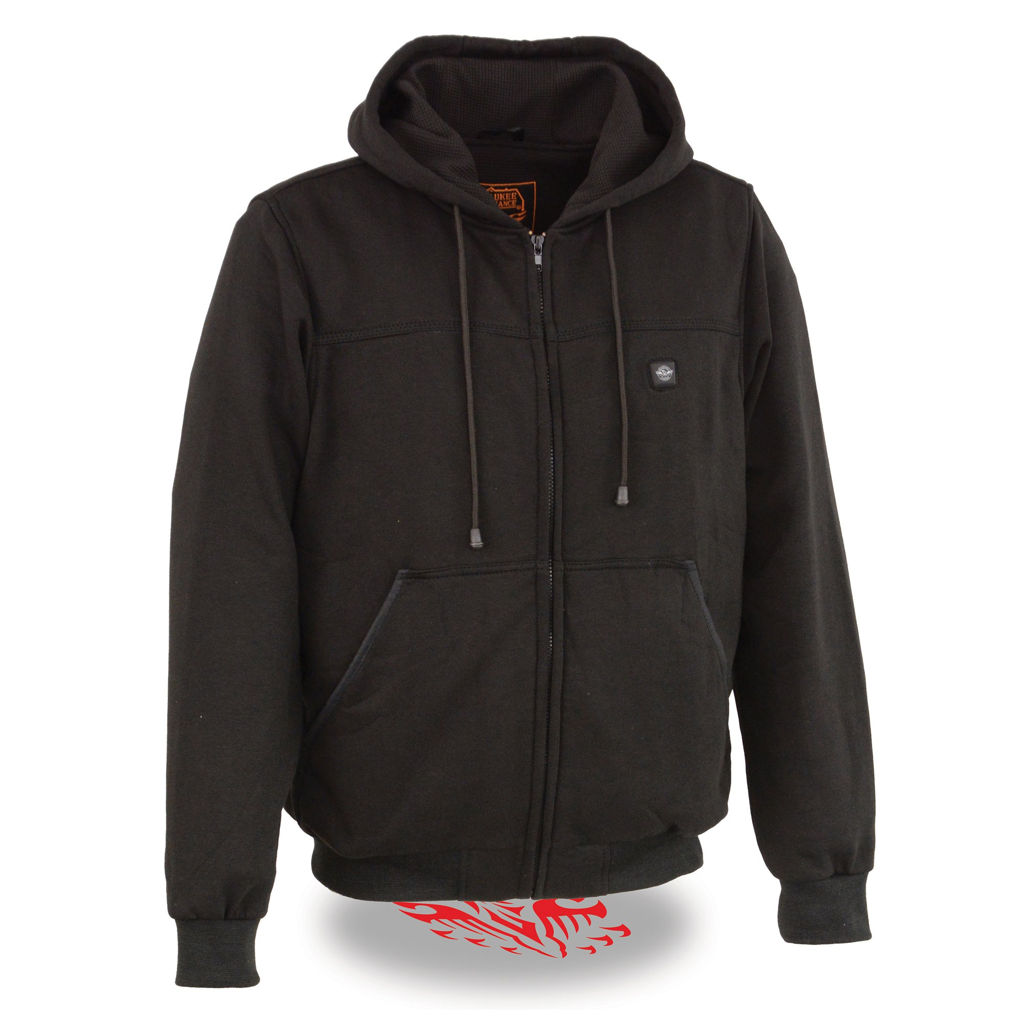 Milwaukee Performance Men's Heated Hoodie with Front and Back Heating Elements (Black, 4X-Large)