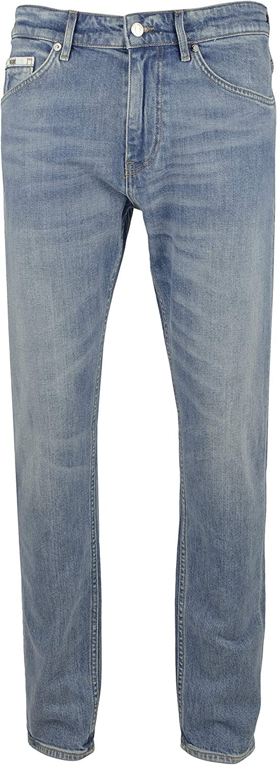 Hugo Boss Boss Mens Taber Relaxed Fit Stretch Jeans