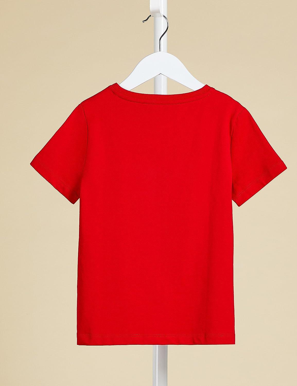 RED WAGON T-Shirt a Manica Corta con Taschino Bambino Pacco da 2