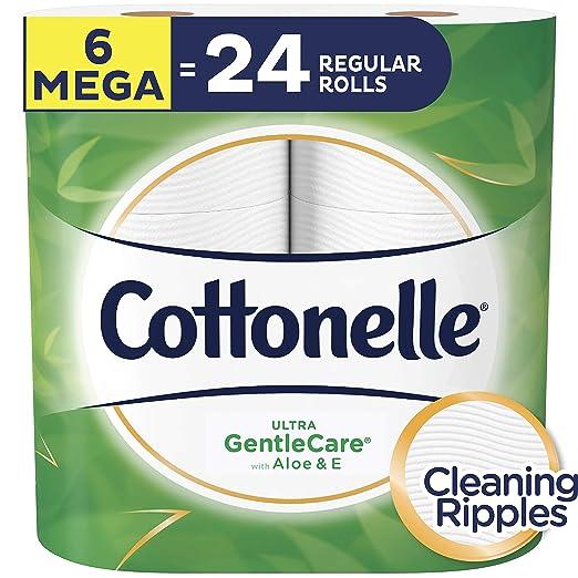 2. Cottonelle Ultra GentleCare Toilet Paper