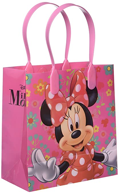 Disney Minnie Mouse Party Favor Goodie Gift Bag