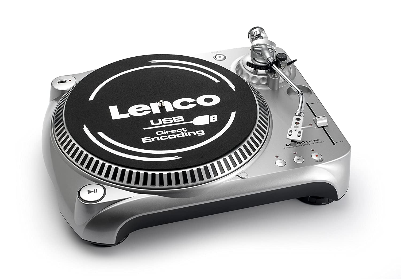 Lenco Turntable L-80 USB - Tocadiscos (Gris): Amazon.es ...