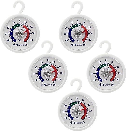 Conjunto termómetro 5 pcs. Nevera - congelador - termómetro ...