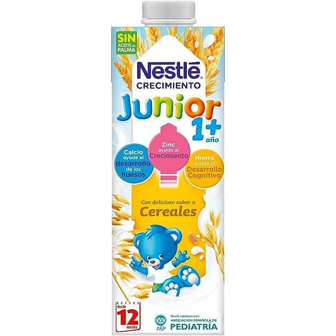 Nestlé Junior Crecimiento Original - A Partir de 1 Año -Pack de 6 x 1