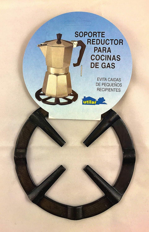 Menajes Utilar Rejilla Soporte Reductor Cafetera Pavonado de 13,5cm