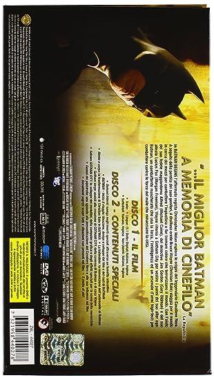 Batman Begins (Collectors Edition) (2 Dvd) [Italia]: Amazon.es: Christian Bale, Michael Caine, Morgan Freeman, Katie Holmes, Cillian Murphy, Liam Neeson, ...