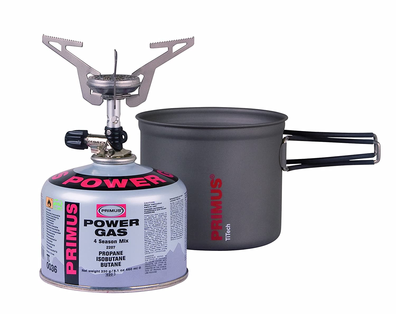 Express Stove Ti Kit Set