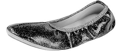 Ladeheid Chaussure de Ballet Danse Gymnastique Fille LAAK007  Amazon ... f23b29662cd