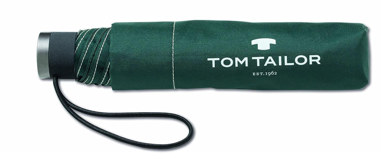 TOM TAILOR Regenschirm Mini Schirm Taschenschirm Handöffner 24 cm