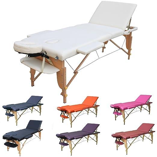 6 opinioni per H-ROOT Tavolo da massaggio 3 sezioni con confezione leggera e portatile base