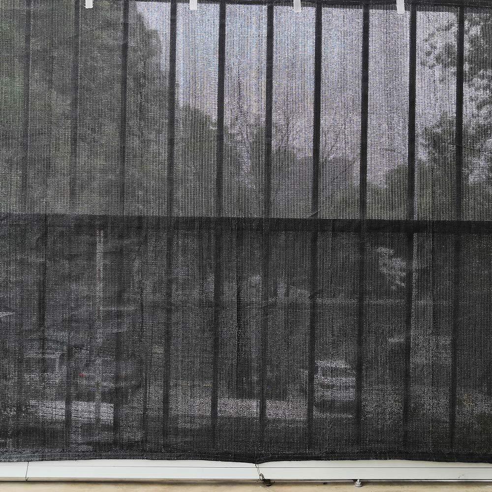 Maschendrahtzaun 1x10m, Anthrazit UISEBRT 1x10m Zaunblende Sichtschutz Tennisblende Anthrazit HPDE 150 g//m/² Sonnenschutz Windschutz mit Kabelbinder f/ür Garten Sportplatz