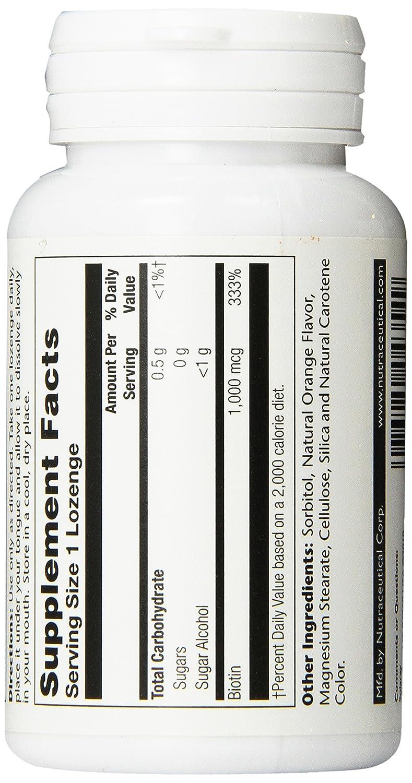 biotin cap 1000mg solaray 100 capsulas: Amazon.es: Salud y cuidado personal