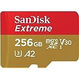SanDisk 256GB Extreme microSDXC UHS-I Memory...