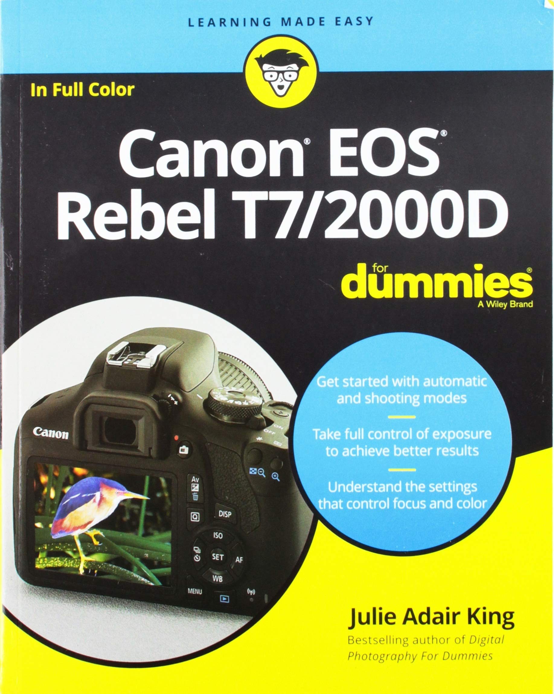 Canon EOS Rebel T7/2000D For Dummies (For Dummies (Computer/Tech)) by For Dummies