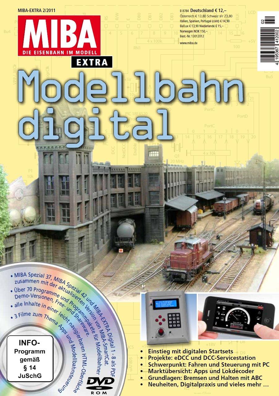 Modellbahn digital 12 mit DVD - MIBA Extra 2011