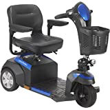 """Drive Medical Ventura Power Mobility Scooter, 3 Wheel, 18"""" Folding Seat"""