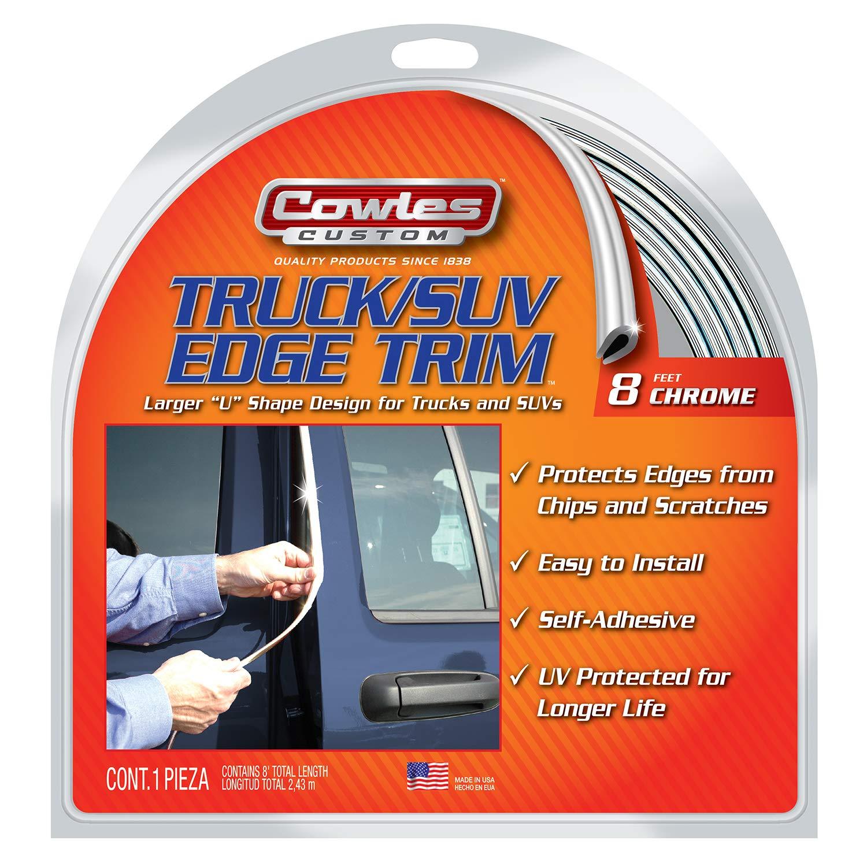 "Cowles S37204 Truck /& SUV Edge Trim 8/"" Chrome"