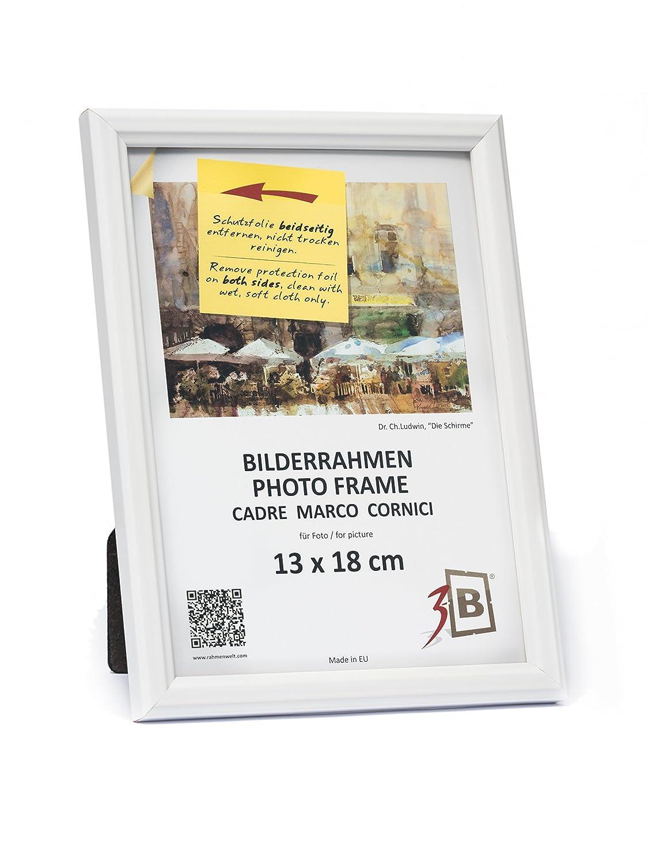 3-B Set 10 STK. - Bilderrahmen JENA - weiß - 13x18 - Holzrahmen ...