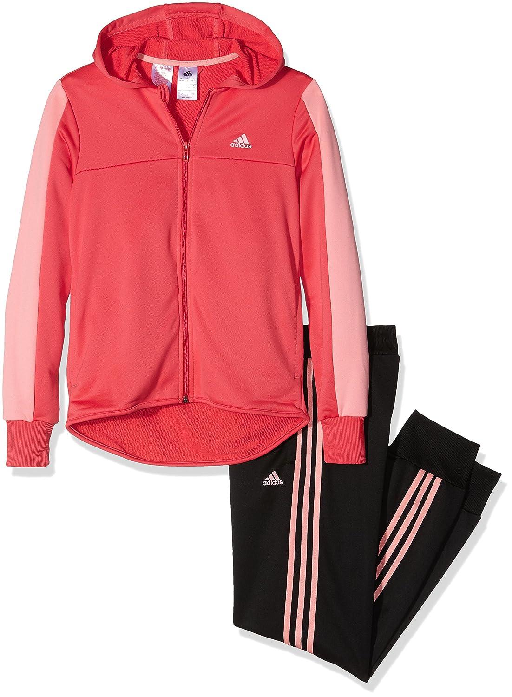 adidas M/ädchen Trainingsanzug mit Kapuze