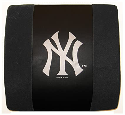 Amazon.com: MLB New York Yankees – Cojín lumbar, color negro ...