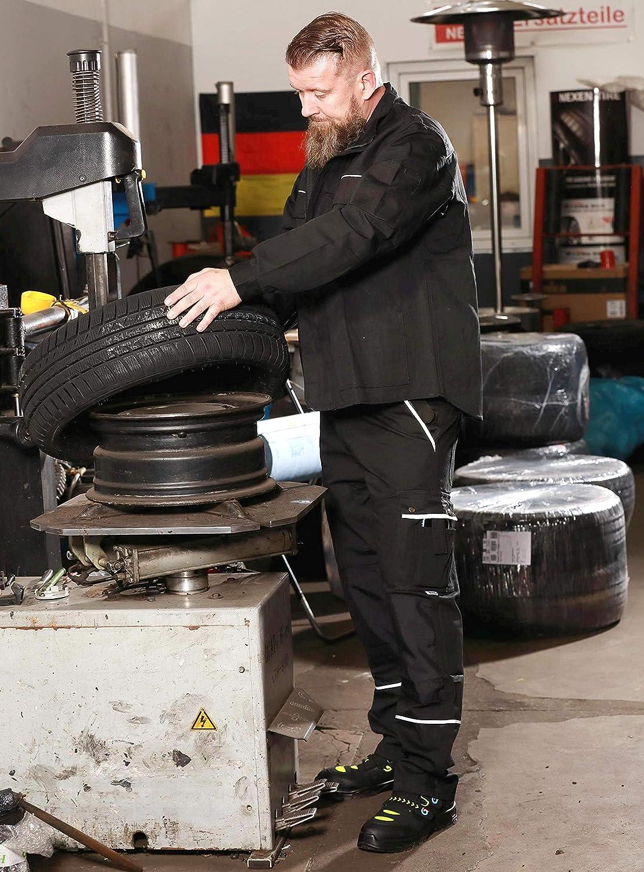 Homme pour Travailler Plusieurs Couleurs et Tailles TMG/® Veste de Travail R/ésistante et L/ég/ère